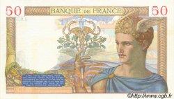 50 Francs CÉRÈS FRANCE  1935 F.17.04 SPL