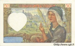 50 Francs JACQUES CŒUR FRANCE  1941 F.19.11 SUP à SPL