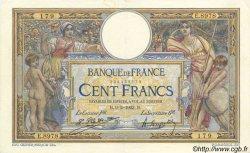 100 Francs LUC OLIVIER MERSON sans LOM FRANCE  1923 F.23.16 pr.SUP