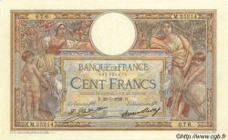 100 Francs LUC OLIVIER MERSON grands cartouches FRANCE  1929 F.24.08 pr.SPL