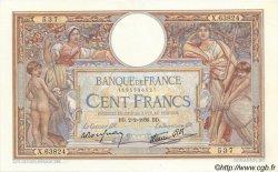 100 Francs LUC OLIVIER MERSON type modifié FRANCE  1939 F.25.41 SUP+