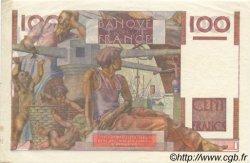 100 Francs JEUNE PAYSAN FRANCE  1951 F.28.30 SPL+
