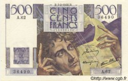 500 Francs CHATEAUBRIAND FRANCE  1946 F.34.04 pr.NEUF