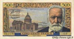 500 Francs VICTOR HUGO FRANCE  1954 F.35.01 SUP+