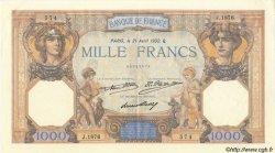 1000 Francs CÉRÈS ET MERCURE FRANCE  1932 F.37.07 SUP