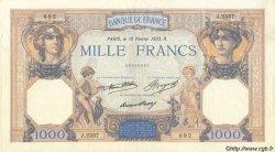 1000 Francs CÉRÈS ET MERCURE FRANCE  1933 F.37.08 TTB+