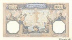 1000 Francs CÉRÈS ET MERCURE FRANCE  1937 F.37.10 SUP+