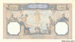 1000 Francs CÉRÈS ET MERCURE type modifié FRANCE  1938 F.38.28 SPL