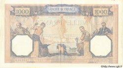 1000 Francs CÉRÈS ET MERCURE type modifié FRANCE  1939 F.38.34 SUP