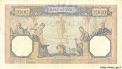 1000 Francs CÉRÈS ET MERCURE type modifié FRANCE  1940 F.38.45 SUP+
