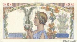 5000 Francs VICTOIRE Taille Douce FRANCE  1935 F.44.03 pr.SUP