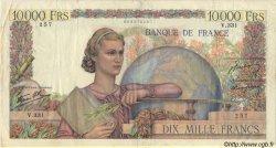 10000 Francs GÉNIE FRANÇAIS FRANCE  1946 F.50.14 TB