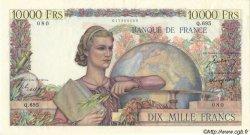 10000 Francs GÉNIE FRANÇAIS FRANCE  1950 F.50.29 SUP à SPL