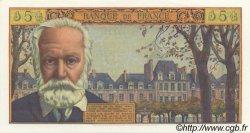 5 Nouveaux Francs VICTOR HUGO FRANCE  1962 F.56.11 SPL