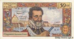50 Nouveaux Francs HENRI IV FRANCE  1959 F.58.04 SPL