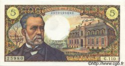 5 Francs PASTEUR FRANCE  1969 F.61.11 pr.NEUF
