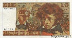 10 Francs BERLIOZ FRANCE  1972 F.63.01 TTB+