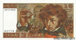 10 Francs BERLIOZ FRANCE  1972 F.63.01 pr.SPL