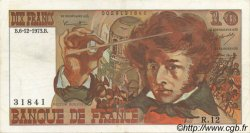 10 Francs BERLIOZ FRANCE  1973 F.63.02