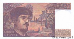 20 Francs DEBUSSY FRANCE  1980 F.66.LOT pr.NEUF