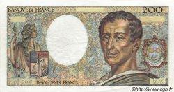 200 Francs MONTESQUIEU FRANCE  1983 F.70.03 TTB à SUP
