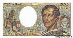 200 Francs MONTESQUIEU FRANCE  1984 F.70.07 NEUF