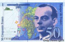 50 Francs SAINT-EXUPÉRY sans STRAP FRANCE  1993 F.72qua.02 pr.NEUF