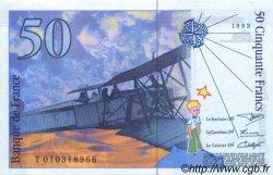 50 Francs St. EXUPÉRY sans STRAP FRANCE  1993 F.72qua.02 pr.NEUF