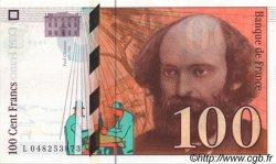 100 Francs CÉZANNE sans Palette FRANCE  1998 F.74ter.01 NEUF