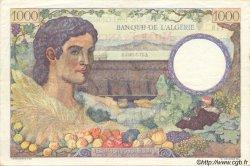 1000 Francs ALGÉRIE SURCHARGÉ FRANCE  1942 VF.10.01 SUP à SPL