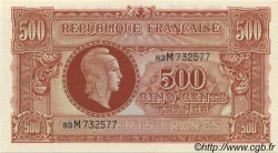 500 Francs MARIANNE FRANCE  1945 VF.11.02 NEUF