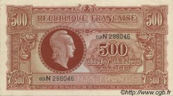 500 Francs MARIANNE FRANCE  1945 VF.11.03 SUP+