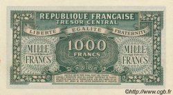 1000 Francs MARIANNE chiffres gras FRANCE  1945 VF.12.01
