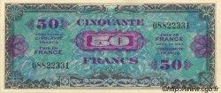 50 Francs DRAPEAU FRANCE  1944 VF.19.01 NEUF