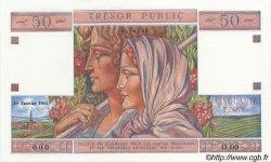 50 Francs TRÉSOR PUBLIC FRANCE  1963 VF.40.02 NEUF