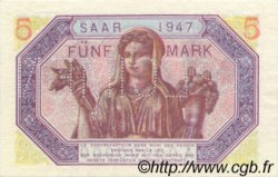 5 Mark SARRE FRANCE  1947 VF.46.02 pr.NEUF