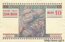 10 Mark SARRE FRANCE  1947 VF.47.02 pr.NEUF