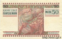 50 Mark SARRE FRANCE  1947 VF.48.02 pr.NEUF