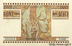 100 Mark SARRE FRANCE  1947 VF.49.02 SPL