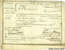 2500 Livres ISLES DE FRANCE ET BOURBON  1787 K.581 TTB