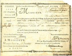 1500 Livres ISLES DE FRANCE ET BOURBON  1786 K.586 TB+