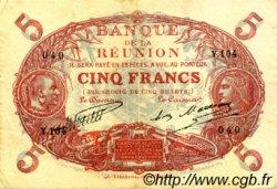 5 Francs ÎLE DE LA RÉUNION  1930 P.14 SUP