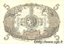 5 Francs Cabasson rouge ÎLE DE LA RÉUNION  1938 P.14 pr.NEUF