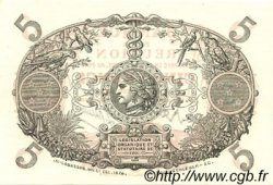 5 Francs ÎLE DE LA RÉUNION  1944 P.14 pr.NEUF