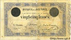 25 Francs ÎLE DE LA RÉUNION  1913 P.18 B+
