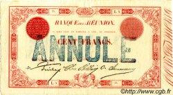100 Francs ÎLE DE LA RÉUNION  1875 P.16? SUP