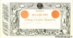 500 Francs ÎLE DE LA RÉUNION  1898 P.17 NEUF