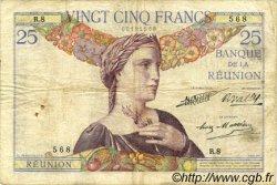 25 Francs ÎLE DE LA RÉUNION  1930 P.23 TB+