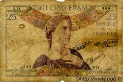 25 Francs ÎLE DE LA RÉUNION  1938 P.23 AB