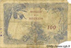 100 Francs ÎLE DE LA RÉUNION  1927 P.24 B+